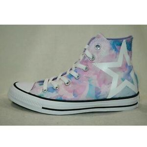 Converse Washed Lilac Hightop Sneakers